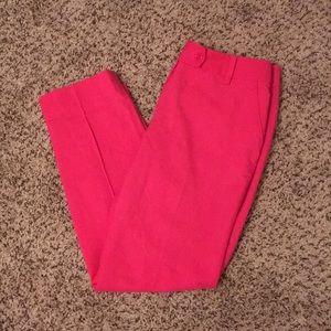 Kate Spade Pink Slacks Pants